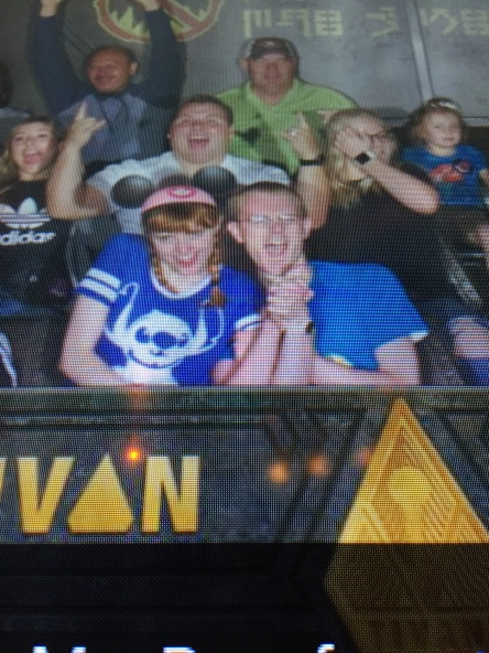 Me looking weird af on Guardians ride